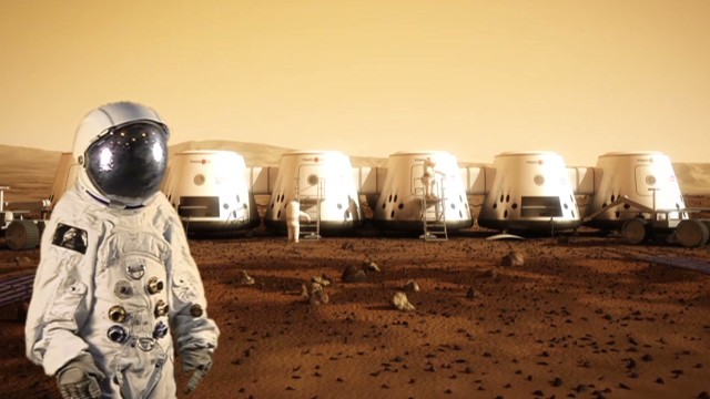 Take a one-way trip to Mars?