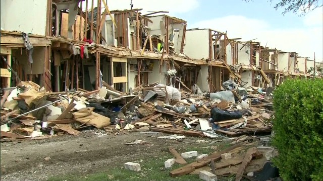 Residents coping after fertilizer blast