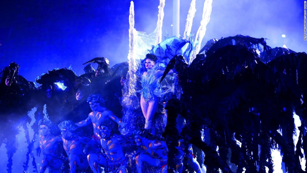 Model and singer Viktoria Modesta wore one of Barata's creations -- a Swarovski jewel-encrusted leg -- while performing at the closing ceremony of the London Paralympic Games.