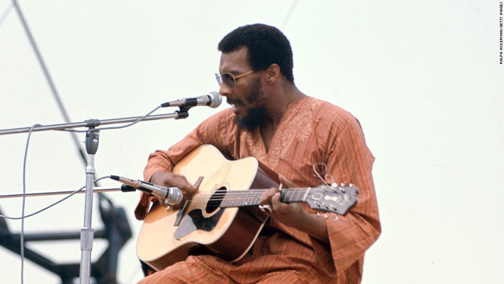 "Folk singer <a href=""http://www.cnn.com/2013/04/22/showbiz/richie-havens-obituary/index.html"">Richie Havens</a>, the opening act at the 1969 Woodstock music festival, died on April 22 of a heart attack, his publicist said. He was 72."