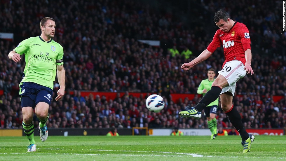 His second was a spectacular volley after Wayne Rooney picked him out with a superb lofted pass.