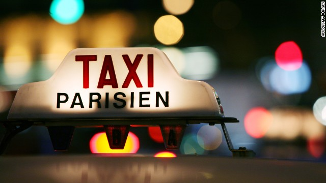 Oo la la: Taxis in Paris might be hard to find at times, but Tokyo tops the pile when it comes to the price of an airport trip.
