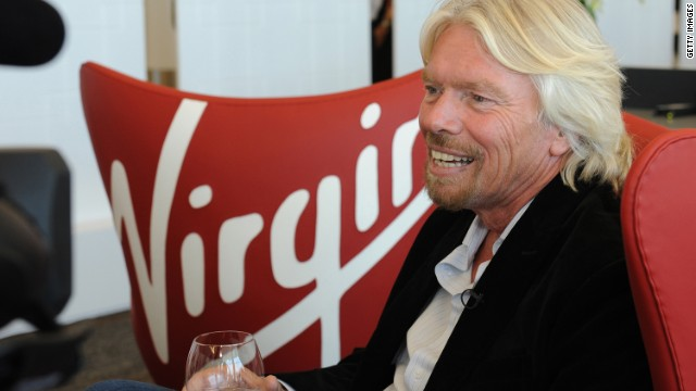 Virgin Group's Richard Branson shared a letter from a frustrated airline passenger with his Twitter followers.