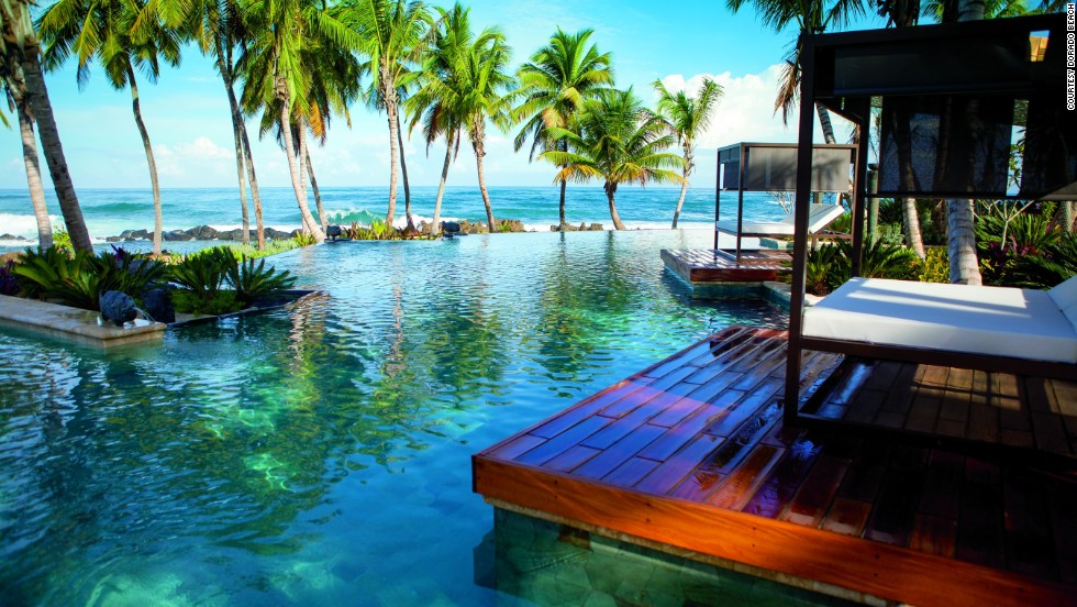 A hundred new rooms and 14 suites have been added to financier Laurance Rockefeller's Dorado Beach Hotel.