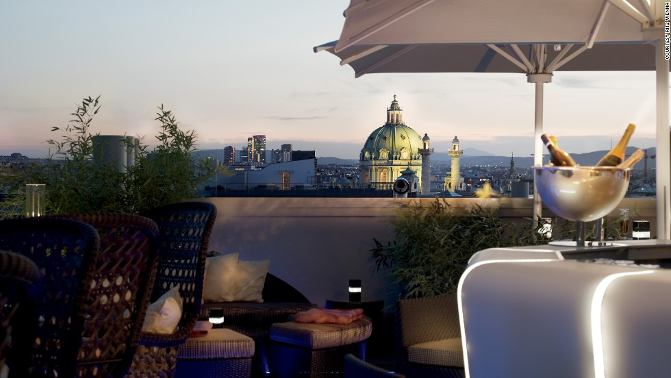 Located half a mile from the Vienna State Opera, the Ritz-Carlton, Vienna occupies four converted 19th-century palaces that have been connected.