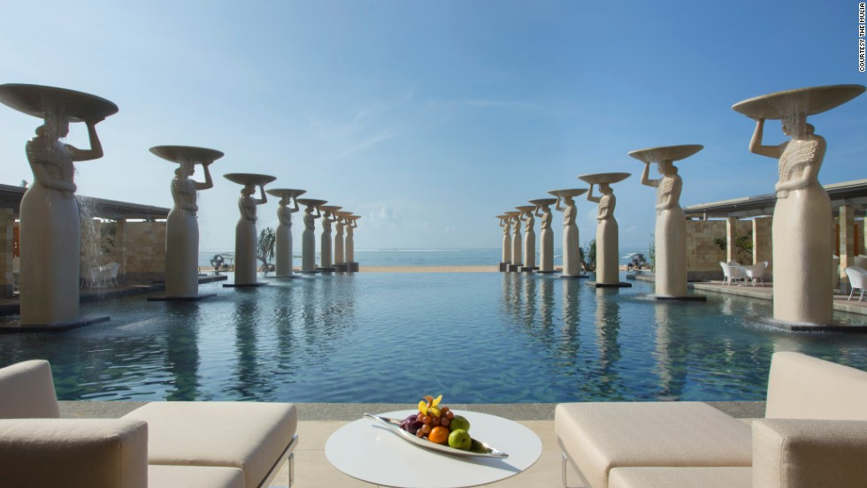 Conde Nast Traveler's annual Hot List rounding up the best new hotels of 2013 hit newsstands on Tuesday. With 745 rooms, Bali's new Mulia Resort is one of the largest properties on the list.