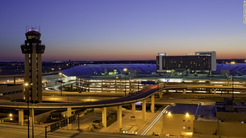 Dfw Airport Hotels Source Check In World S Best Cnn Travel