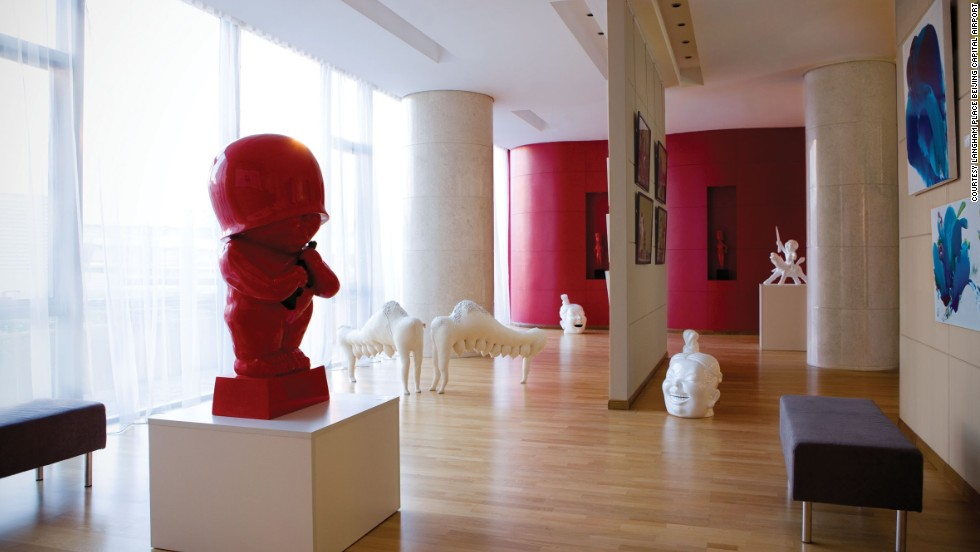 An art gallery in Langham Place brings some extra style to the conveniently located hotel.
