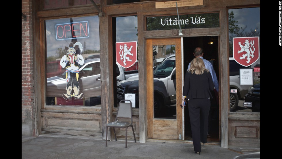 """Many stores in town bear the Czech greeting """"Vitame Vas."""" The first settlers came to the area decades before West was formally established in 1882. The railroad brought outsiders, including Czech immigrants who in many ways still define the place."""