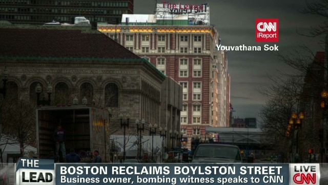 Boston reclaims Boylston Street