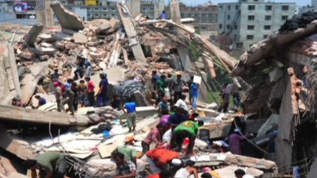 Dozens killed in building collapse
