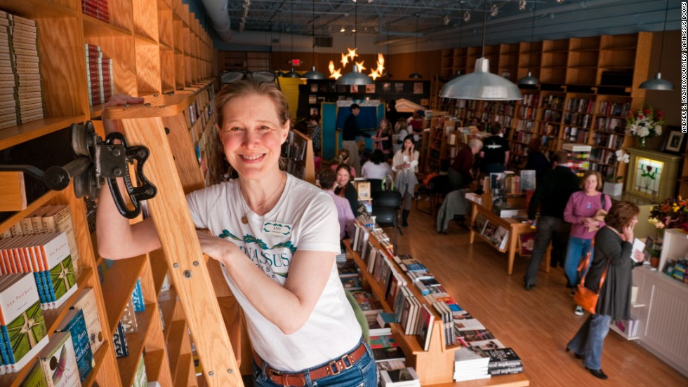 Author Ann Patchett, shown here at Parnassus Books, co-founded the Nashville bookstore at the end of 2011.