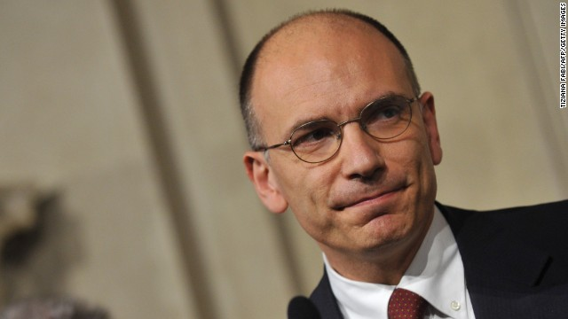 Italian Prime Minister Enrico Letta, who said Italy would respect its fiscal commitments, has not spelt out what he intends to propose on the economic front on his tour.