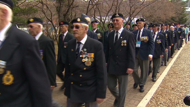 Vets of 'The Forgotten War' return