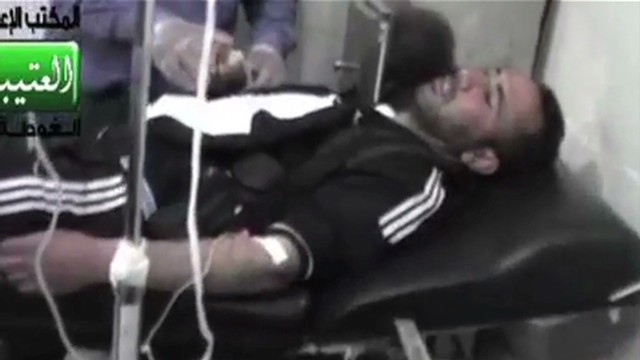 Chemical weapons used in Syria?