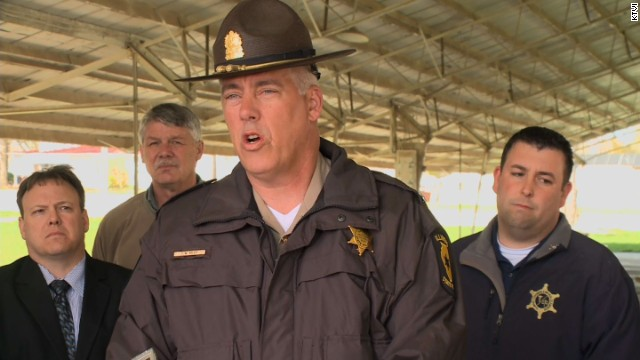 "Illinois State Police Lt. Col. Todd Kilby says, ""There is no reason to believe there is any further danger."""
