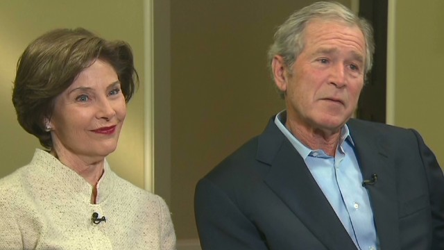 Bush opens up about his terms in office
