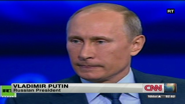 Putin talks about Boston bombing suspect