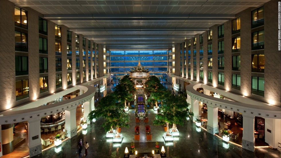 The 612-room Novotel Suvarnabhumi Bangkok offers guests flexible check-in. Check in anytime and check out 24 hours later.