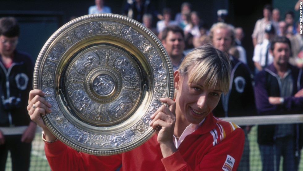 Sport's biggest lesbian star is 18-time grand slam tennis champion Martina Navratilova, who announced she was gay shortly after gaining U.S. citizenship in 1981. Her revelation came relatively early in her career and she went on to win many more titles.