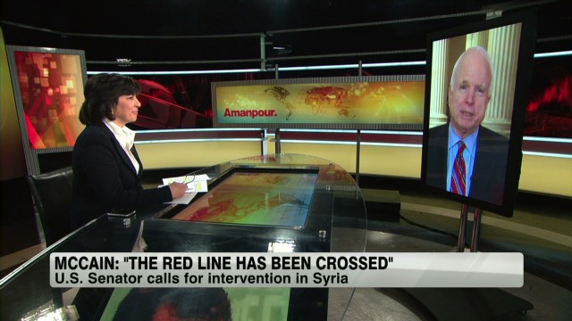 McCain: 'The red line has been crossed'