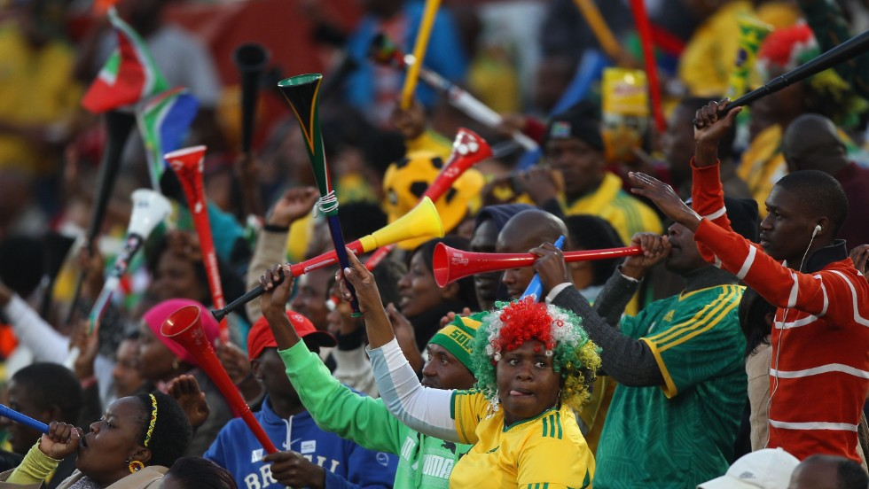 Vuvuzelas are used regularly at football matches in South Africa but when the 2010 World Cup came to town a vuvuzela frenzy was born. But the magic of the monotone plastic horn didn't last long and they were soon banned from many grounds.