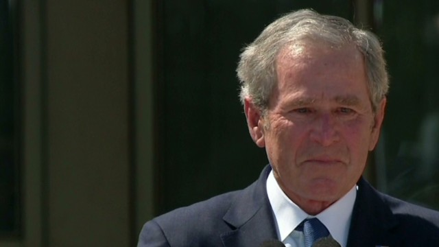 tsr bush emotional at library ceremony_00015829.jpg