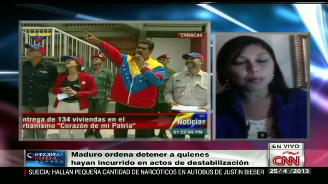cnnee osmary hernandez election aftermath report venezuela repercussions_00004809.jpg