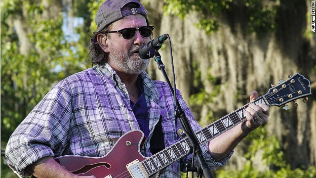 Widespread Panic's John Bell at Wanee Festival: This was taken up close with a professional camera.