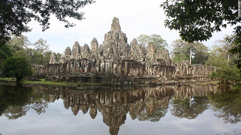 Angkor Thom, one of the many monuments in Cambodia's spectacular Angkor complex