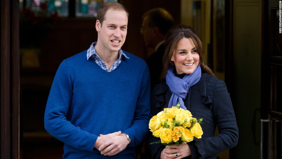 "William and Catherine leave the King Edward VII Hospital three days after she was admitted for acute morning sickness. The hospitalization prompted the <a href=""http://www.cnn.com/2012/12/06/world/europe/uk-royal-pregnancy"">early announcement of her pregnancy</a>."