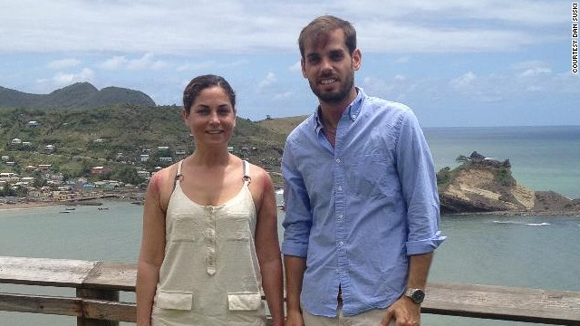 Siblings return to U.S. after shipwreck