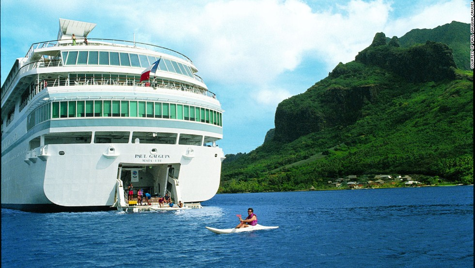 Paul Gauguin ships cruise the Caribbean and Latin America in winter and Europe in summer. Some of what's Included: Select wines, spirits and soft drinks and in-cabin refrigerator stocked with soft drinks and beer.
