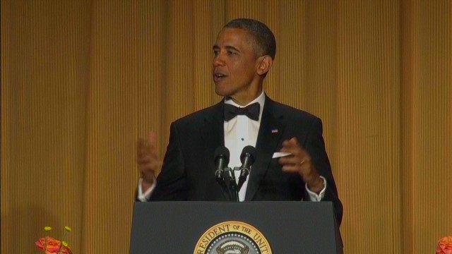raw sot WHCD obama zinger holder _00003118.jpg