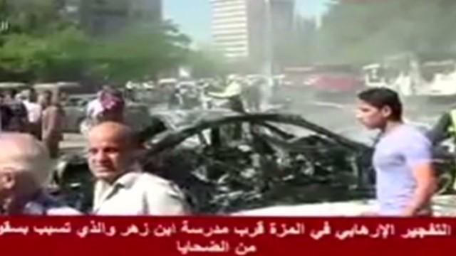 Bomb targets Syrian prime minister