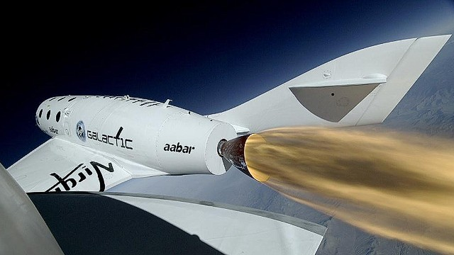 Virgin's SpaceShipTwo goes supersonic