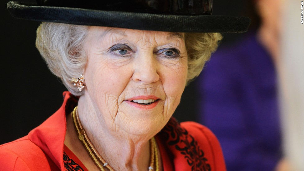 Queen Beatrix attends the 50th anniversary celebrations of the European School, Bergen on March 12, 2013.