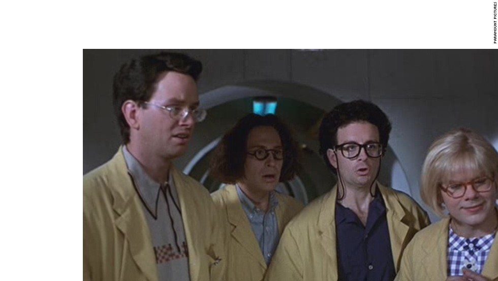 """The Canadian sketch comedy troupe behind """"Kids in the Hall"""" headed over to the big screen for Kelly Makin's """"Kids in the Hall: Brain Candy"""" in 1996."""