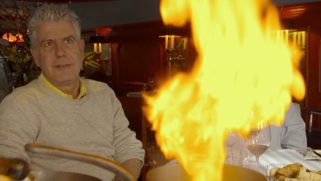 Bourdain rediscovers old-world dining