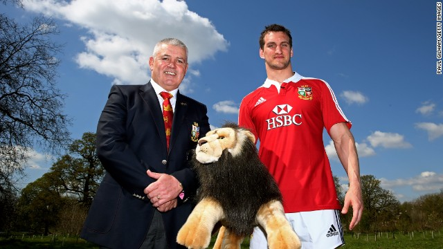Welshman Sam Warburton has been chosen to skipper the Lions by coach Warren Gatland