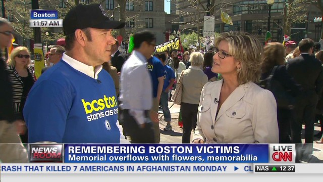 Kevin Spacey: I had to come to Boston