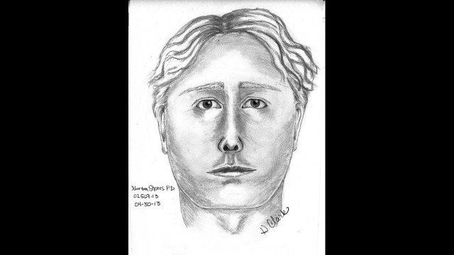 Police have released a sketch of a suspect in the abduction of Michigan gas station cashier Jessica Heeringa, 25.