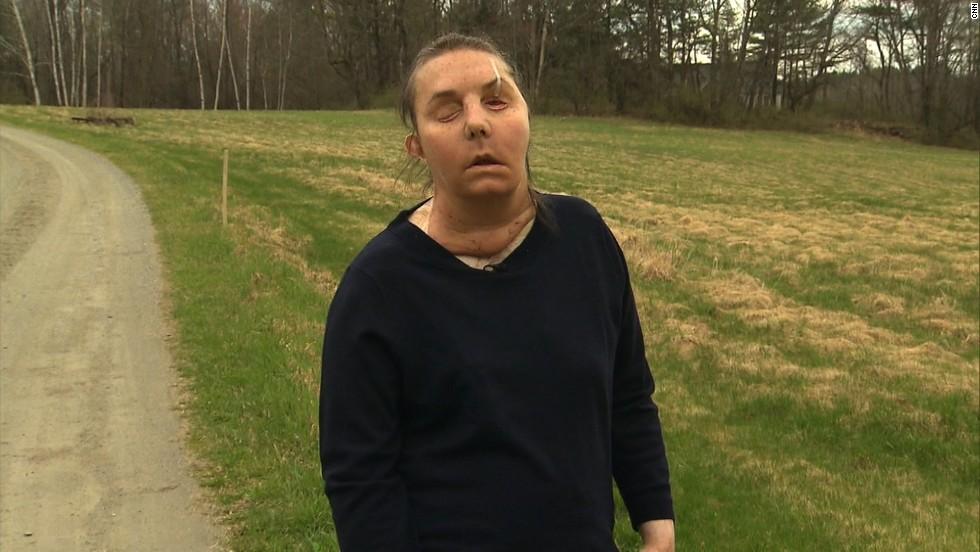 Tarleton on Monday, April 29, near her home in Thetford, Vermont.