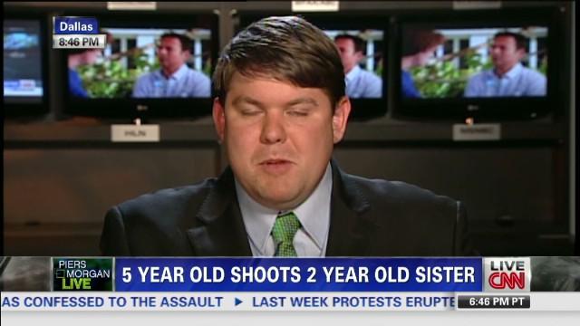 Ferguson: Irresponsible humans, not guns