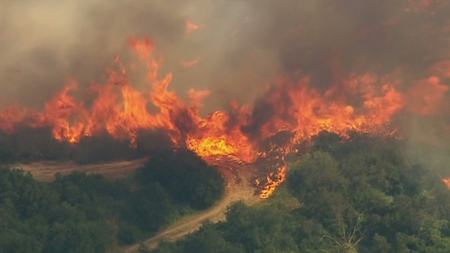 Summit wildfire forces evacuations