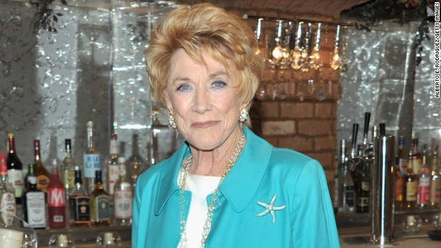 Actress Jeanne Cooper has returned to the hospital.