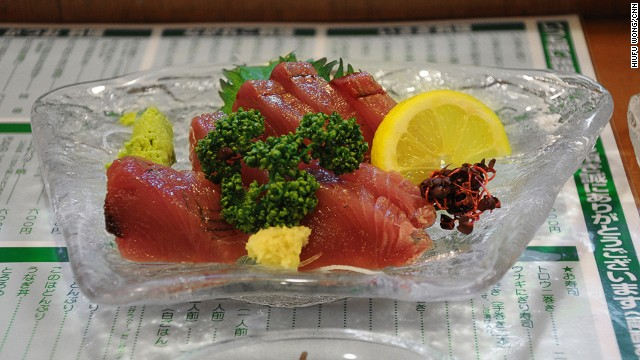 Tuna sashimi never tastes the same after trying the super-fresh version in Wakayama.