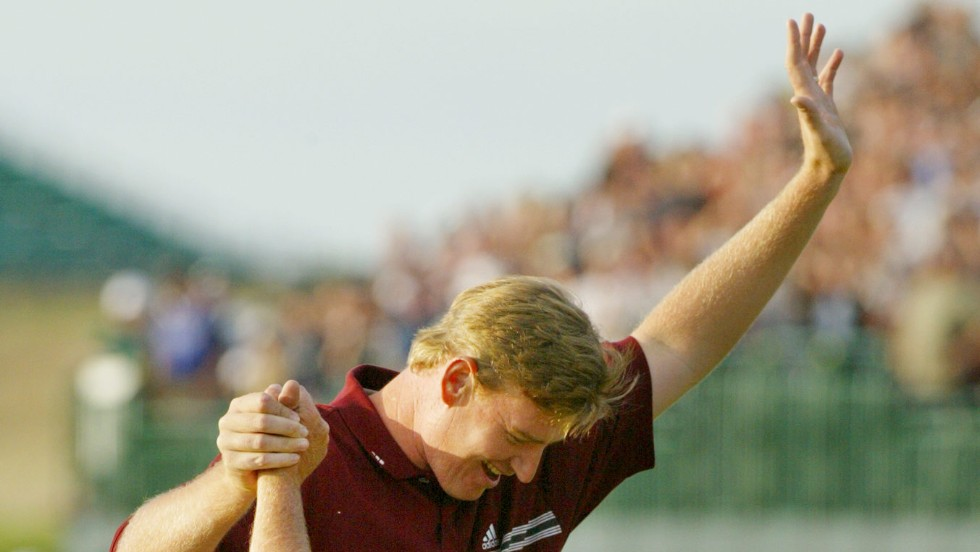 Ernie Els won the British Open the last time it was played at Muirfield in 2002. The South African survived a four-way play-off and won on the fifth extra hole.
