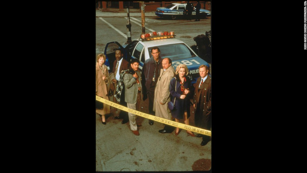 "<strong>""NYPD Blue"" (1993)</strong>: Steven Bochco's gritty crime drama broke past established network limits for language and nudity -- and also paid attention to character."