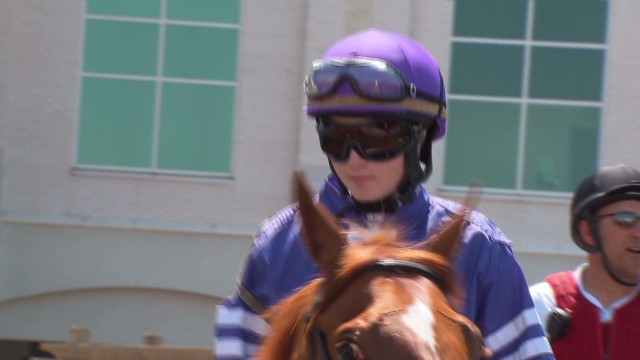 Female jockey aims to win Derby